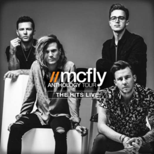 MCFLY Anthology Tour Live Hits CD Brand NEW 2016