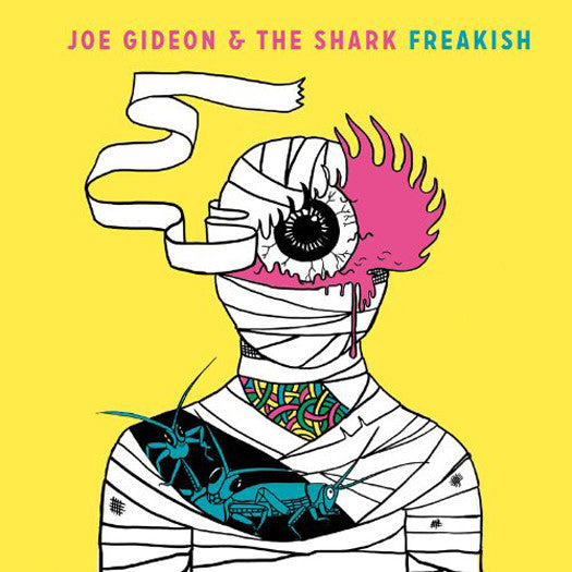 JOE GIDEON AND THE SHARK FREAKISH LP VINYL 33RPM NEW 2013