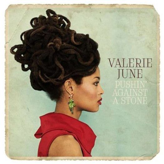 VALERIE JUNE PUSHIN AGAINST A STONE LP VINYL NEW 2013 33RPM
