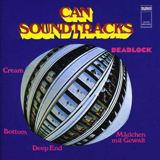 CAN Soundtracks LP Vinyl NEW Remastered 2014 Reissue