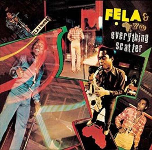 FELA KUTI & AFRICA 70 EVERYTHING SCATTER LP VINYL NEW 33RPM
