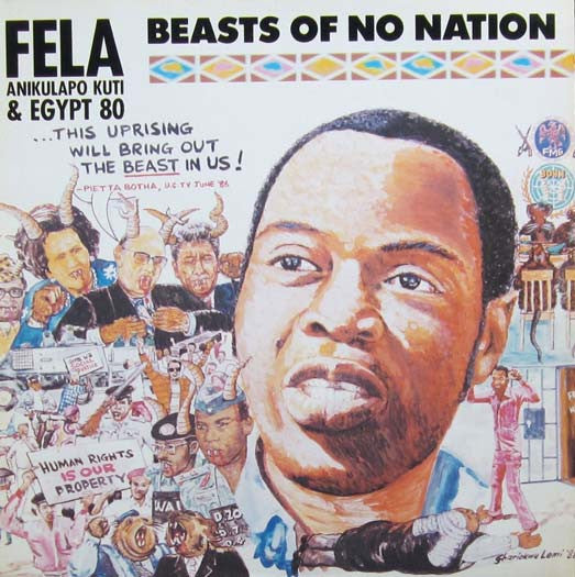 FELA KUTI & EGYPT 80 BEASTS OF NO NATION LP VINYL NEW 33RPM