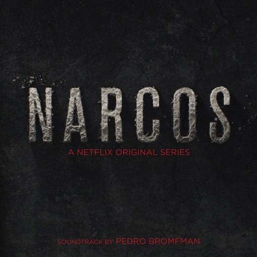 NARCOS Netflix Soundtrack 2LP Black & Red Vinyl NEW