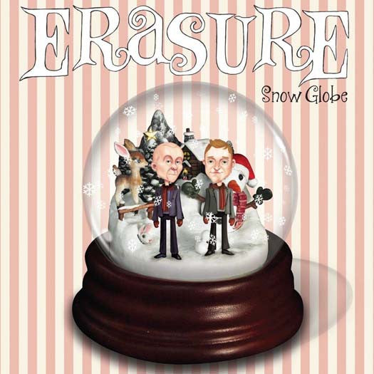 ERASURE Snow Globe 2LP Colour Vinyl NEW 2016 Christmas