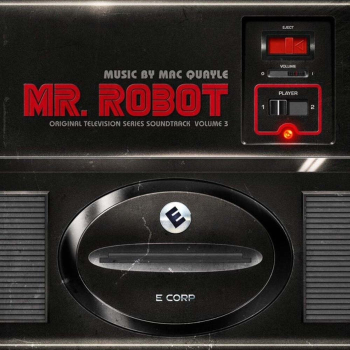 MR ROBOT Soundtrack Vol. 3 LP Coloured Vinyl NEW 2017