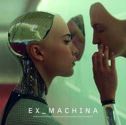 EX MACHINA Soundtrack 2LP Silver Vinyl NEW PRE ORDER 08/12/17