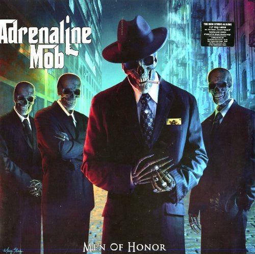 ADRENALINE MOB MEN OF HONOR LIMITED EDITION LP VINYL  2 DISC METAL  NEW