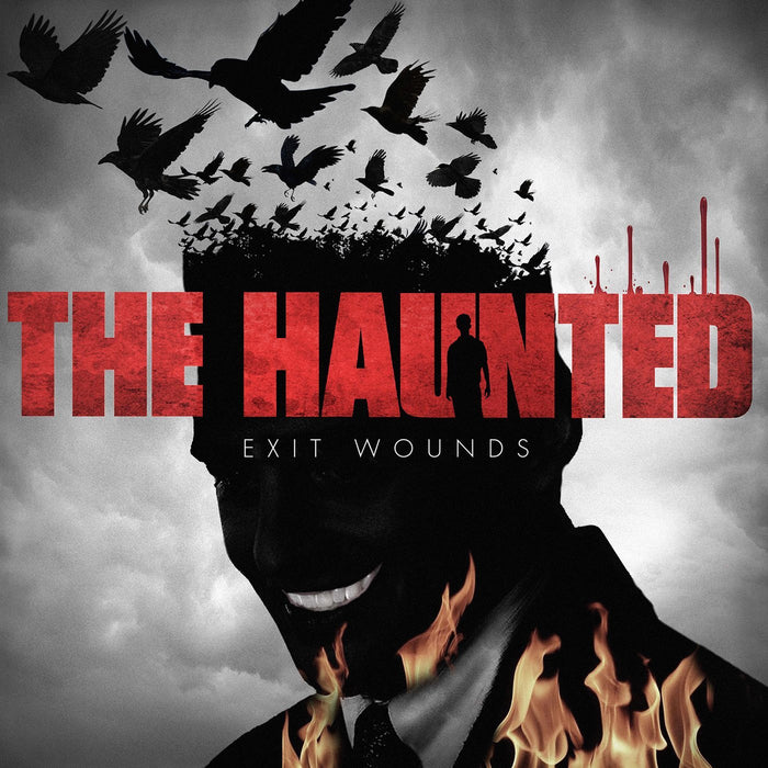 HAUNTED EXIT WOUNDS LP VINYL 33RPM NEW