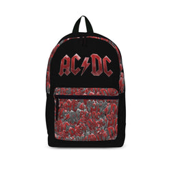 AC/DC Logo Pattern Rucksack New with Tags