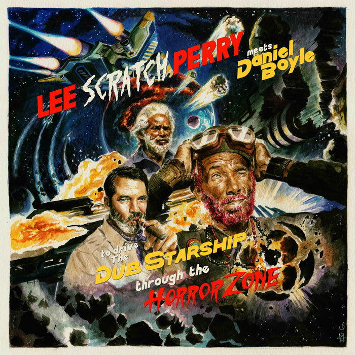 Lee Scratch Perry - Meets Daniel Boyle To Drive The Dub Starship Through The Horror Zone Vinyl LP Crystal RSD Aug 2020