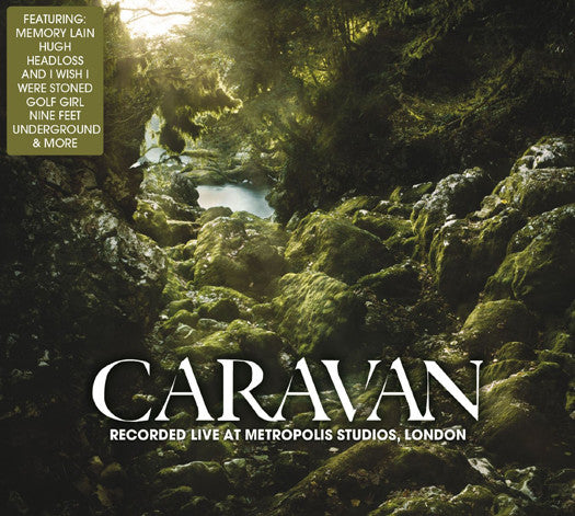 CARAVAN RECORDED LIVE AT METROPOLIS LP VINYL NEW 2014 33RPM