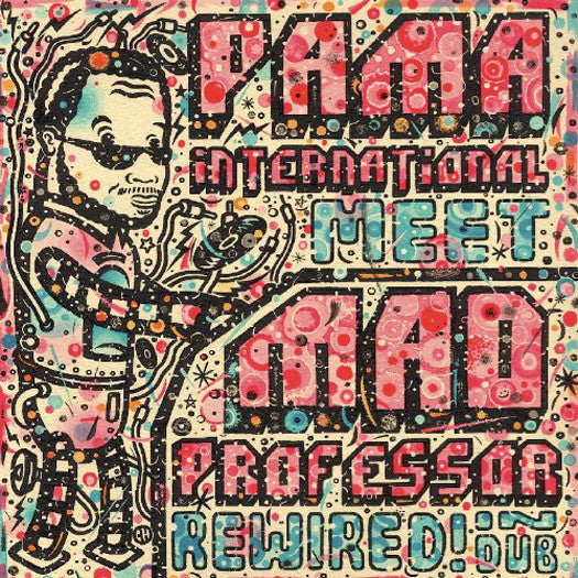 PAMA INTERNATIONAL AND MAD PROF REWIRED IN DUB LP VINYL 33RPM NEW