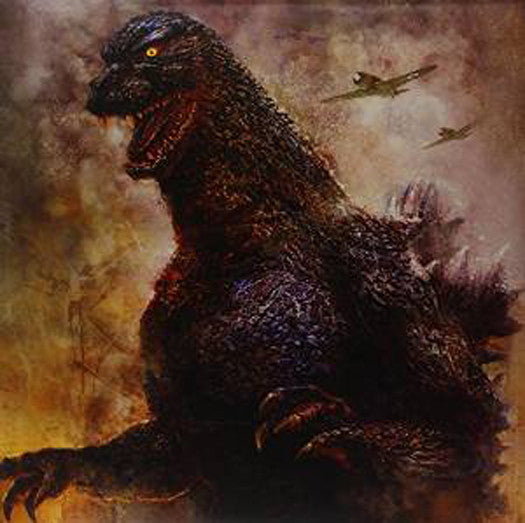 AKIRAI GODZILLA JAPANESE ORIGINAL LP VINYL NEW 33RPM NEW GREY