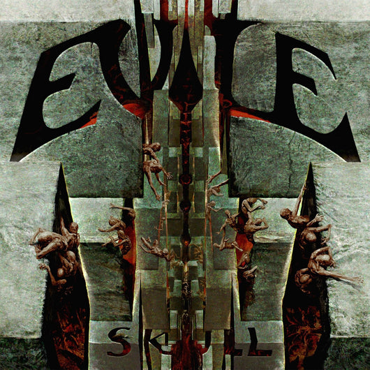 EVILE SKULL LP VINYL 33RPM NEW