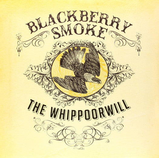 BLACKBERRY SMOKE THE WHIPPOORWILL LP VINYL 33RPM NEW CLEAR LP VINYL