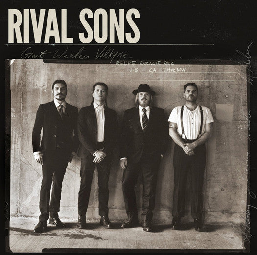 Rival Sons ‎Great Western Valkyrie Vinyl LP 2014