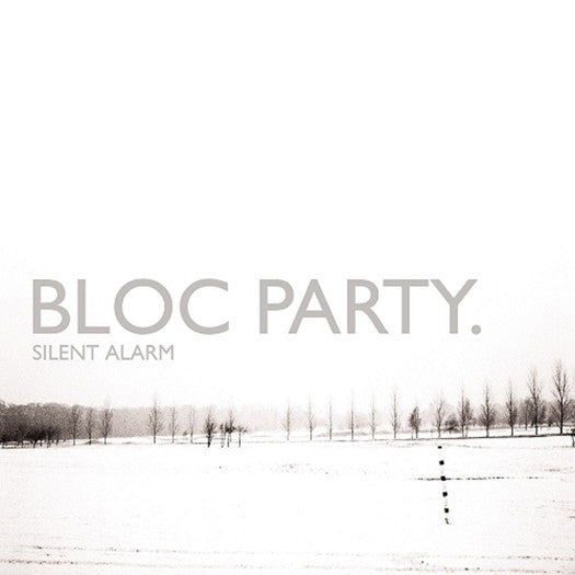 BLOC PARTY SILENT ALARM LP VINYL NEW 33RPM