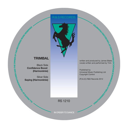 "TRIMBAL CONFIDENCE BOOST/SAYING 12"" SINGLE VINYL NEW 2012"