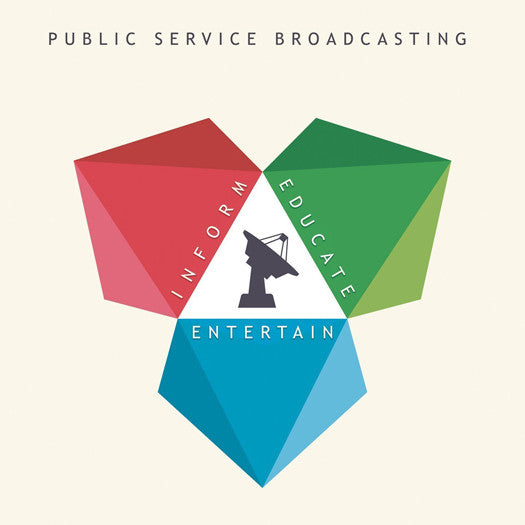 PUBLIC SERVICE BROADCASTING INFORM EDUCATE ENTERTAIN LP VINYL NEW
