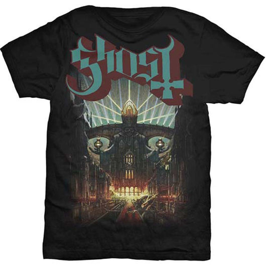 GHOST Meliora MENS Black MEDIUM T SHIRT NEW OFFICIAL
