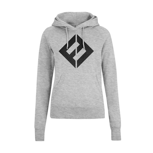 FOO FIGHTERS Equal Logo WOMENS Grey LARGE Pullover Hoodie NEW