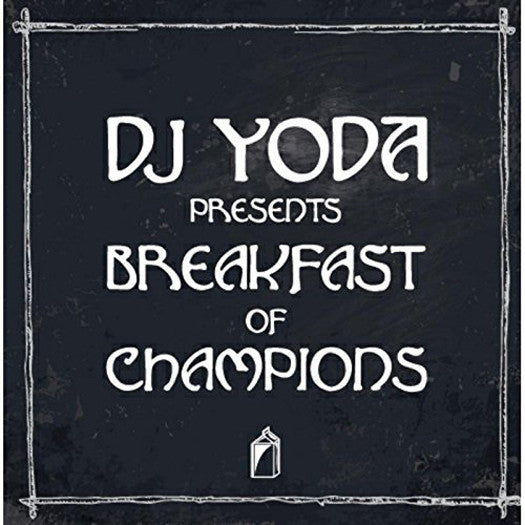 DJ YODA BREAKFAST OF CHAMPIONS LP VINYL NEW 2015 33RPM