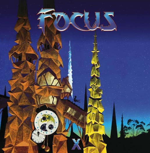 Focus X 2LP blue coloured Vinyl NEW