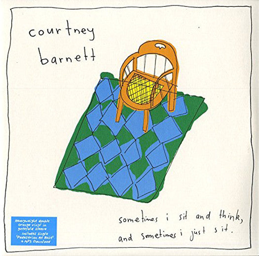 COURTNEY BARNETT SOMETIMES I SIT AND THINK AND SOME LP VINYL NEW (US)