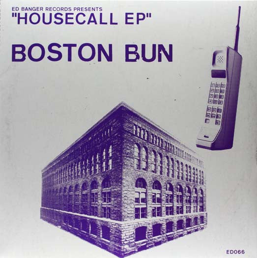 BOSTON BUN HOUSECALL EP VINYL NEW 33RPM