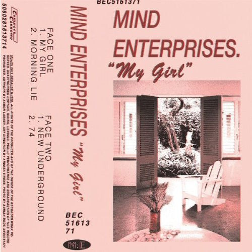 MIND ENTERPRISES MY GIRL LP VINYL NEW 33RPM