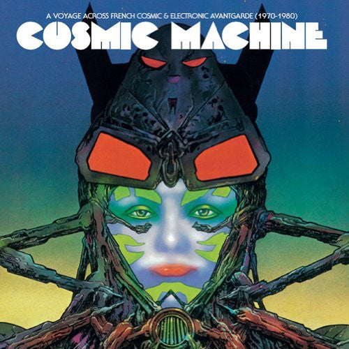 COSMIC MACHINE A VOYAGE THROUGH FRENCH COSMIC DOUBLE LP VINYL 33RPM 2013 NEW