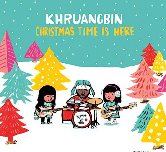 Khruangbin Christmas Time is Here Green 7