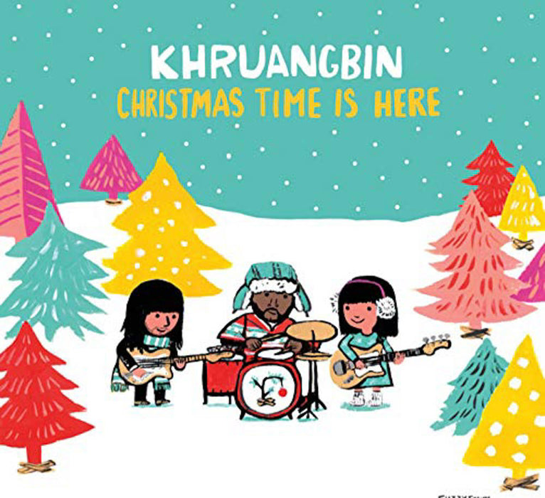 "Khruangbin Christmas Time is Here Green 7"" Vinyl Single New 2018"