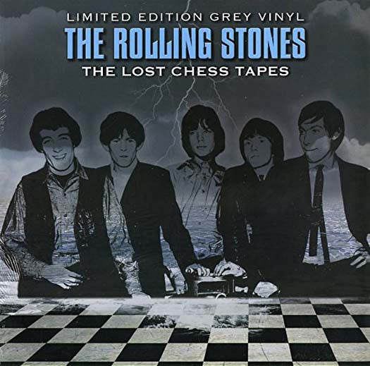 ROLLING STONES The Lost Chess Tapes LIMITED EDITION Grey LP Vinyl NEW