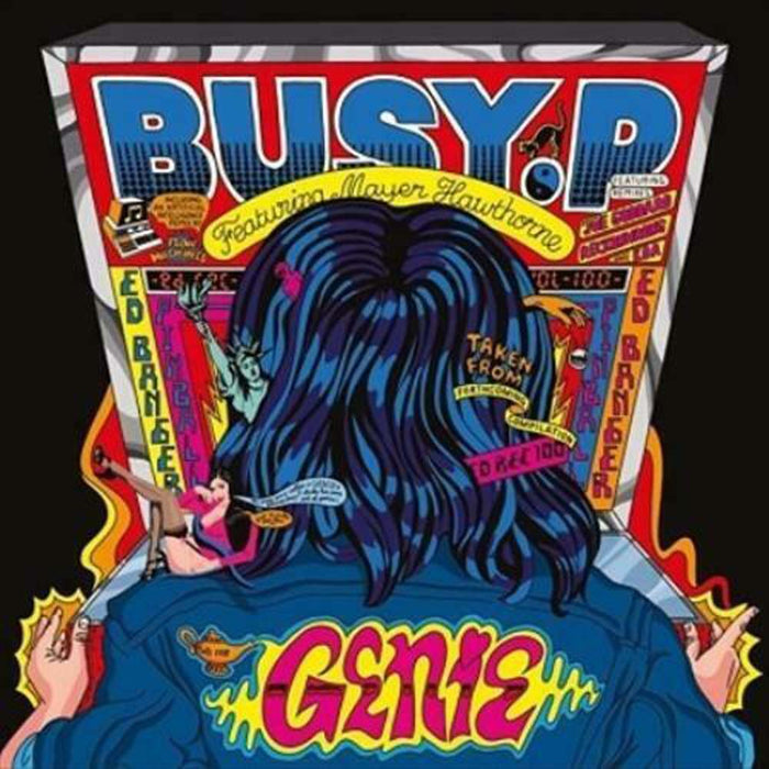"BUSY P Genie 12"" Maxi Vinyl Single NEW 2017"