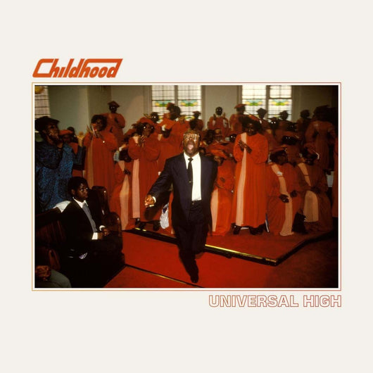 CHIOLDHOOD Universal High RED LP Vinyl NEW