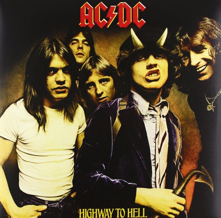 AC/DC HIGHWAY TO HELL LP VINYL 180GM 33RPM NEW