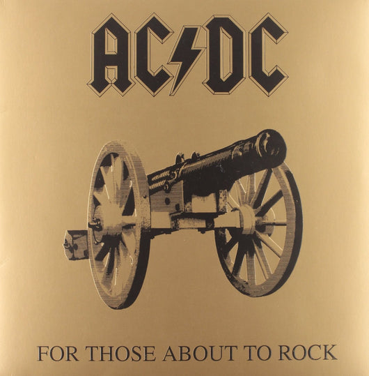ACDC FOR THOSE ABOUT TO WE SAL LP VINYL 33RPM NEW