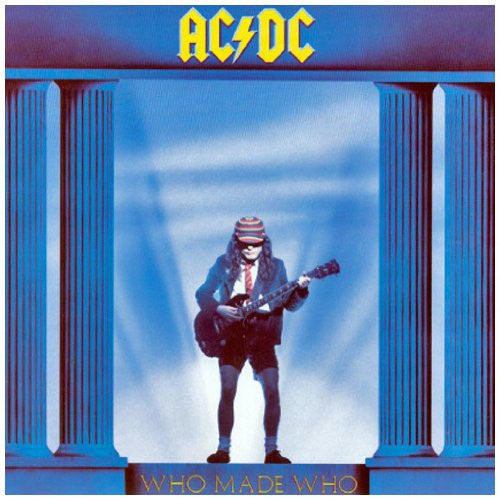 ACDC WHO MADE WHO LP VINYL 33RPM NEW