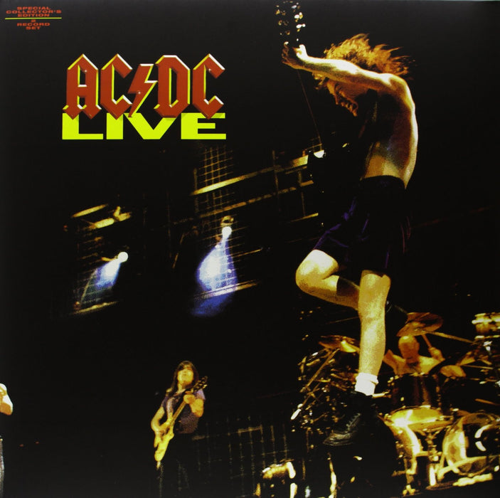 ACDC LIVE 2 LP COLLECTORS EDITION LP VINYL 33RPM NEW