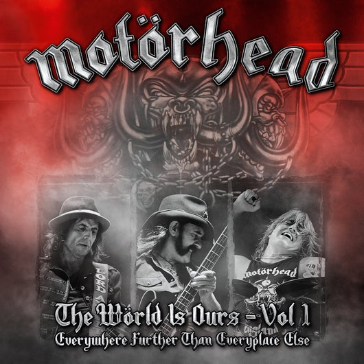 MOTORHEAD THE WORLD IS OURS VOL 1 EVER LP VINYL 33RPM NEW