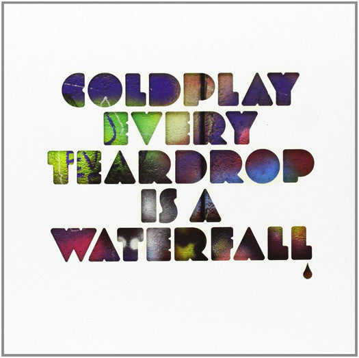 COLDPLAY EVERY TEARDROP IS A WATERFALL 7 INCH VINYL SINGLE NEW 45RPM 2011