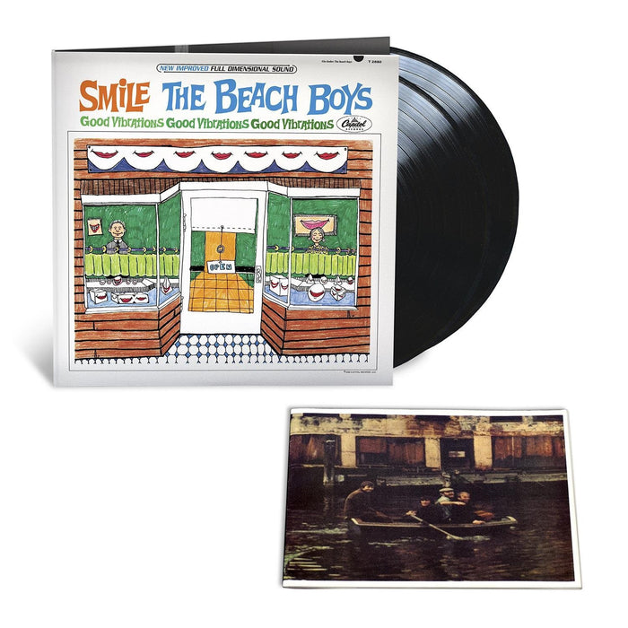 BEACH BOYSSMILE SESSIONS LP VINYL 33RPM NEW