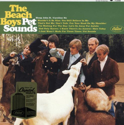 BEACH BOYS PET SOUNDS LP VINYL NEW (US) 33RPM LIMITED EDITION