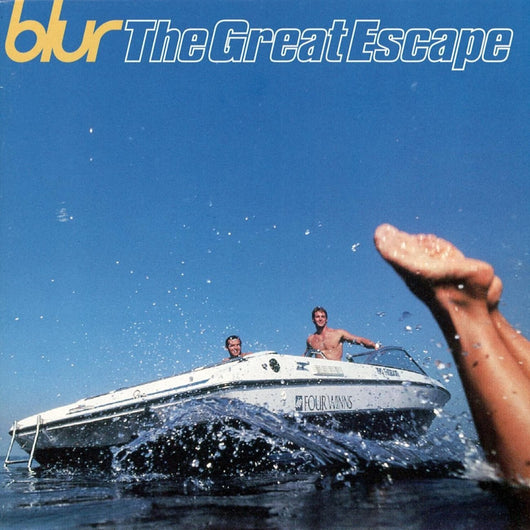 BLUR THE GREAT ESCAPE LP VINYL 33RPM NEW 2LP