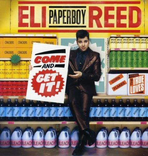 ELI PAPERBOY REED COME AND GET IT LP VINYL 33RPM NEW