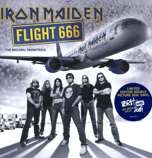 FLIGHT 666 LP VINYL NEW 33RPM