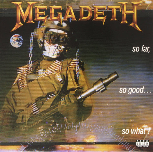 MEGADETH SO FAR SO GOOD SO WHAT LP VINYL NEW (US) 33RPM LIMITED EDITION