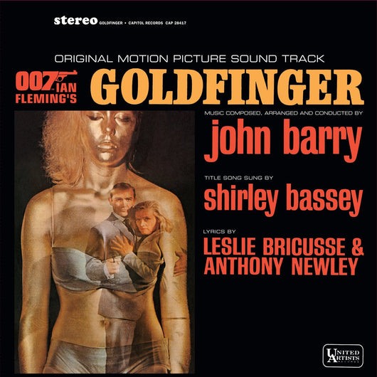 GOLDFINGER OST LP Vinyl NEW 2013 007 James Bond