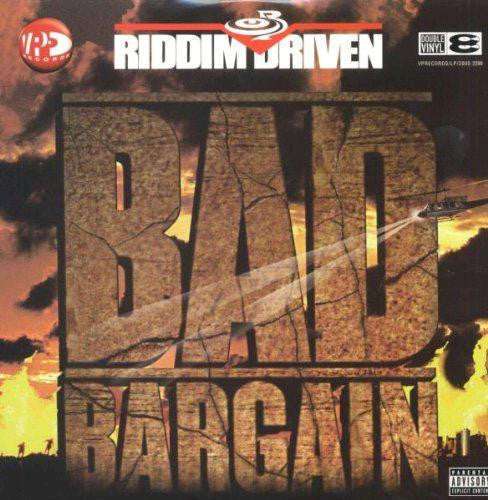 RIDDIM DRIVEN BAD BARGAIN COMPILATION REGGAE HALL LP VINYL NEW 33RPM